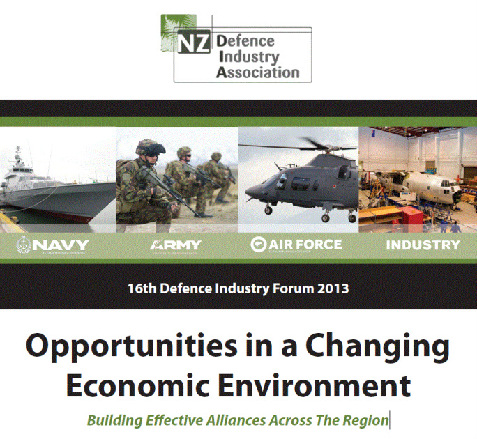 16th Defence Industry Forum 2013 - Registrations Open
